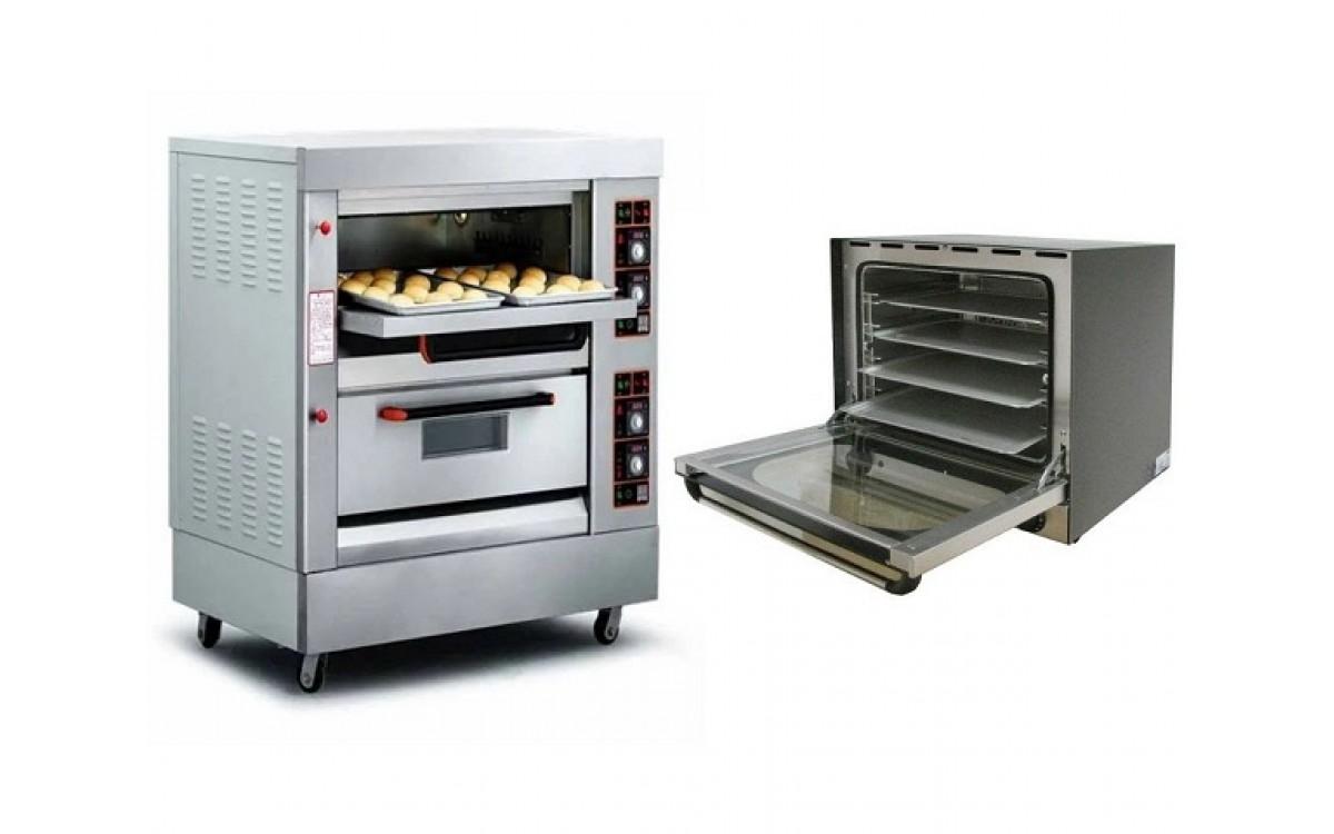 Lò nướng bánh công nghiệp khác gì với lò nướng đối lưu