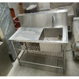 Bàn rửa 1 hộc 2 tầng